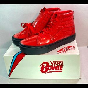 Vans David Bowie Ziggy Stardust Red